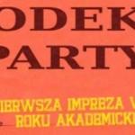 Kodeks Party – 30 X 2014r. – Dream Club – Zapraszamy!