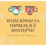 Sprzedaż wejściowek na Imprezę Mikołajkową z RSS WPiA