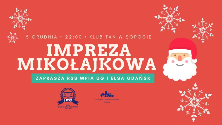 Impreza Mikołajkowa WPiA